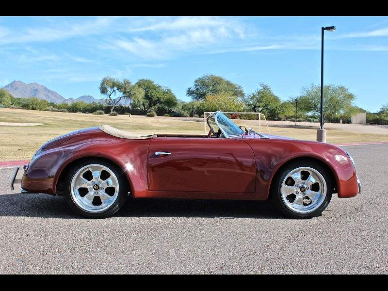 1957 Porsche 356 Wide Body Speedster