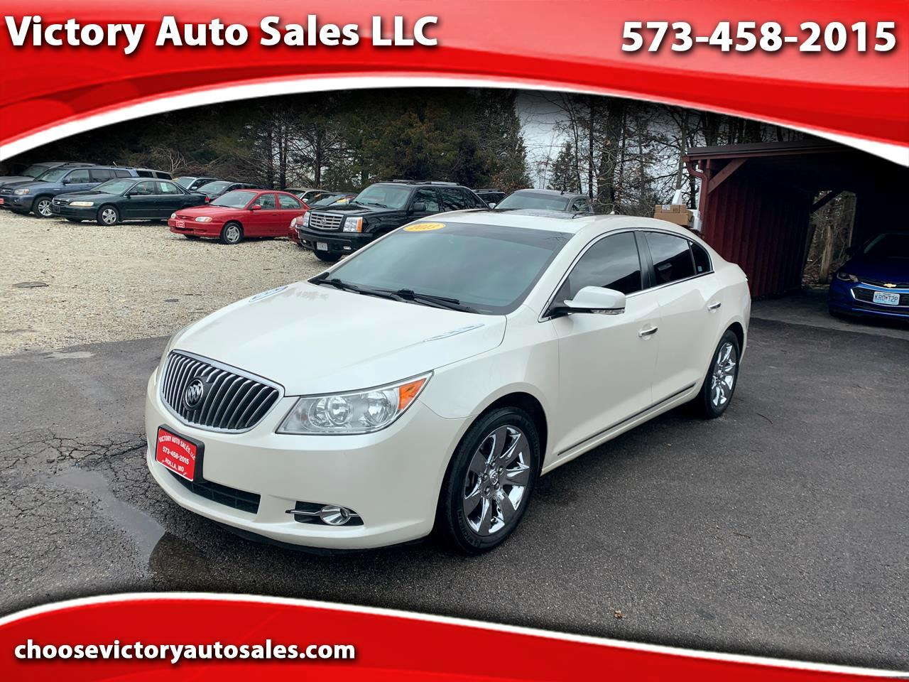 Buick LaCrosse Leather Package 2013