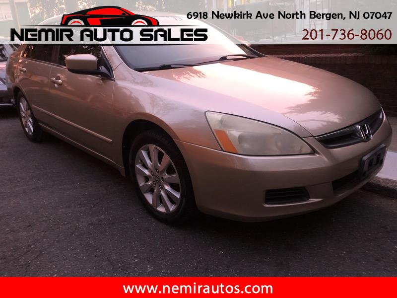 2007 Honda Accord EX-L Sedan V6 6-Spd AT