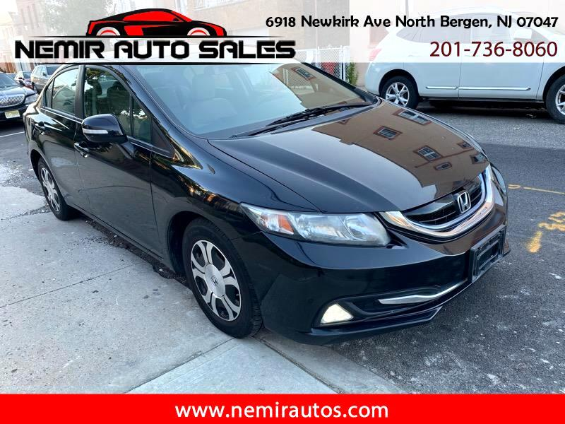 Honda Civic Hybrid CVT AT-PZEV with Leather 2013
