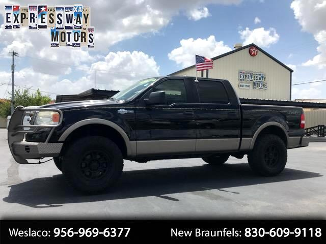 2006 Ford F-150 King Ranch SuperCrew Short Bed 4WD
