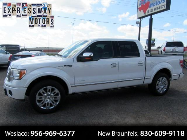2012 Ford F-150 Platinum SuperCrew 6.5-ft. Bed 2WD