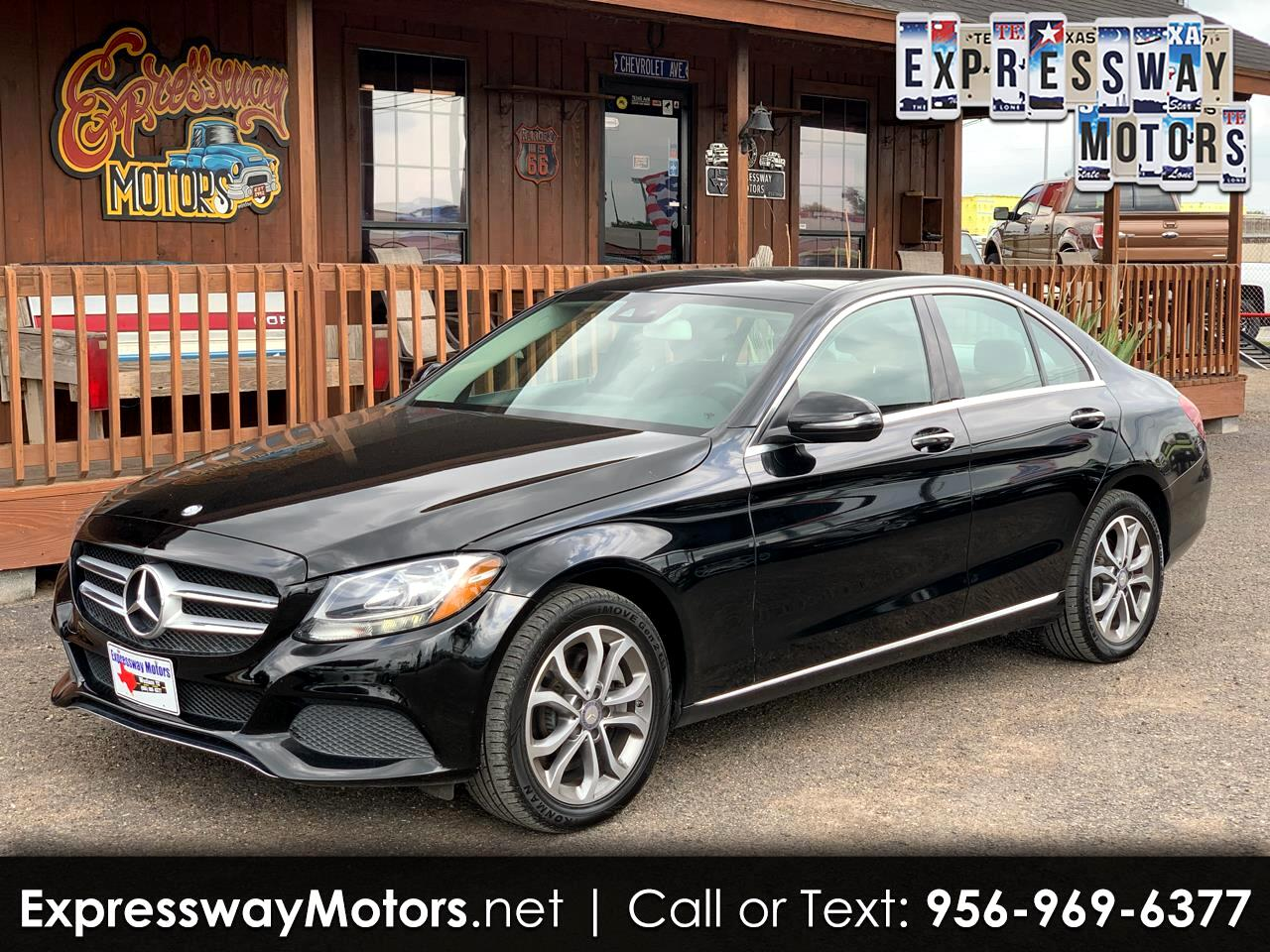 2017 Mercedes-Benz C-Class C300 4MATIC Sedan
