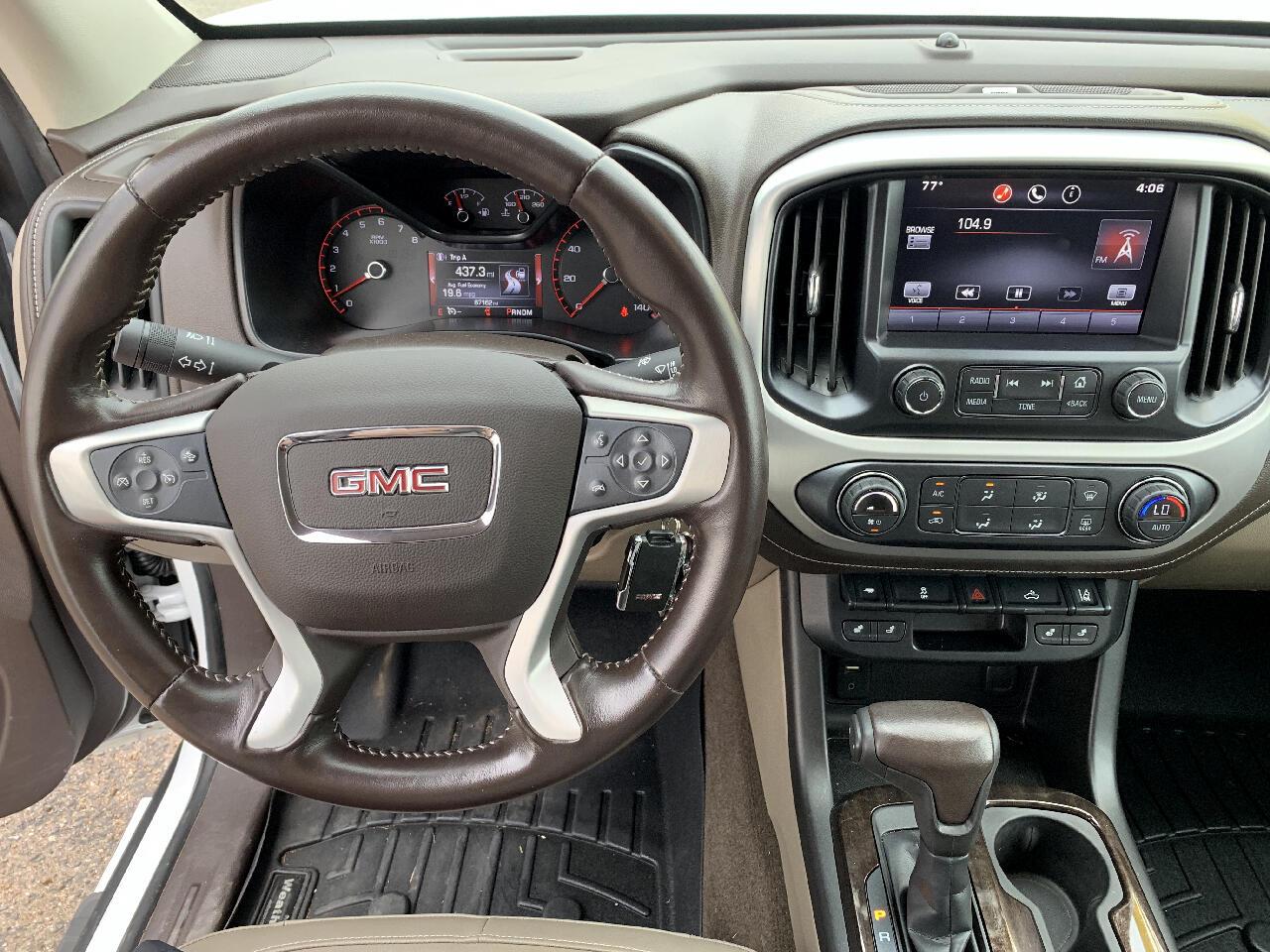 2015 GMC Canyon SLT Crew Cab 2WD Short Box