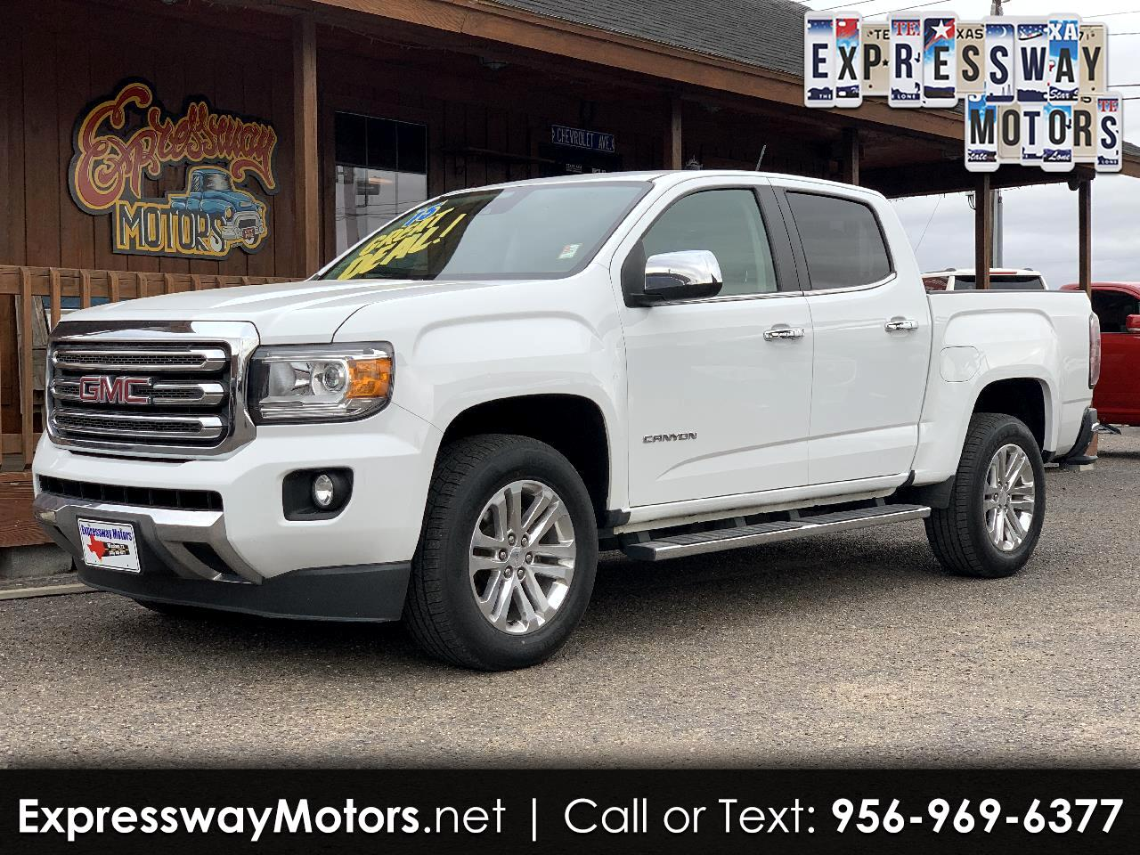GMC Canyon SLT Crew Cab 2WD Short Box 2015