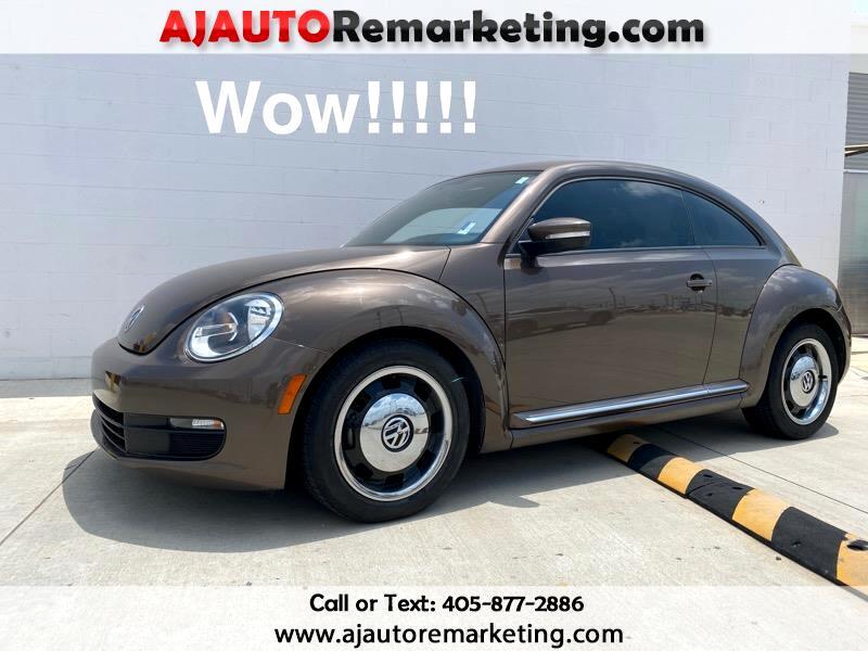 Volkswagen Beetle 2.5L 2D Coupe 2012