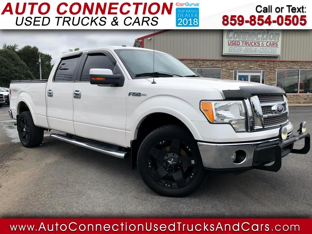 "2010 Ford F-150 4WD SuperCrew Flareside 157"" XLT"