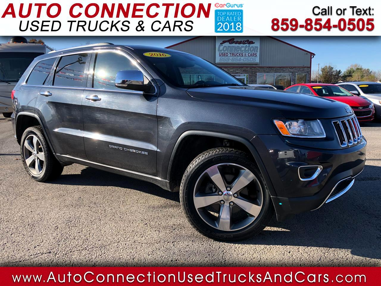 2016 Jeep Grand Cherokee 4WD 4dr Limited