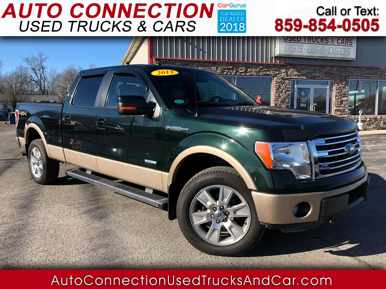 "2013 Ford F-150 4WD SuperCrew 139"" Lariat"