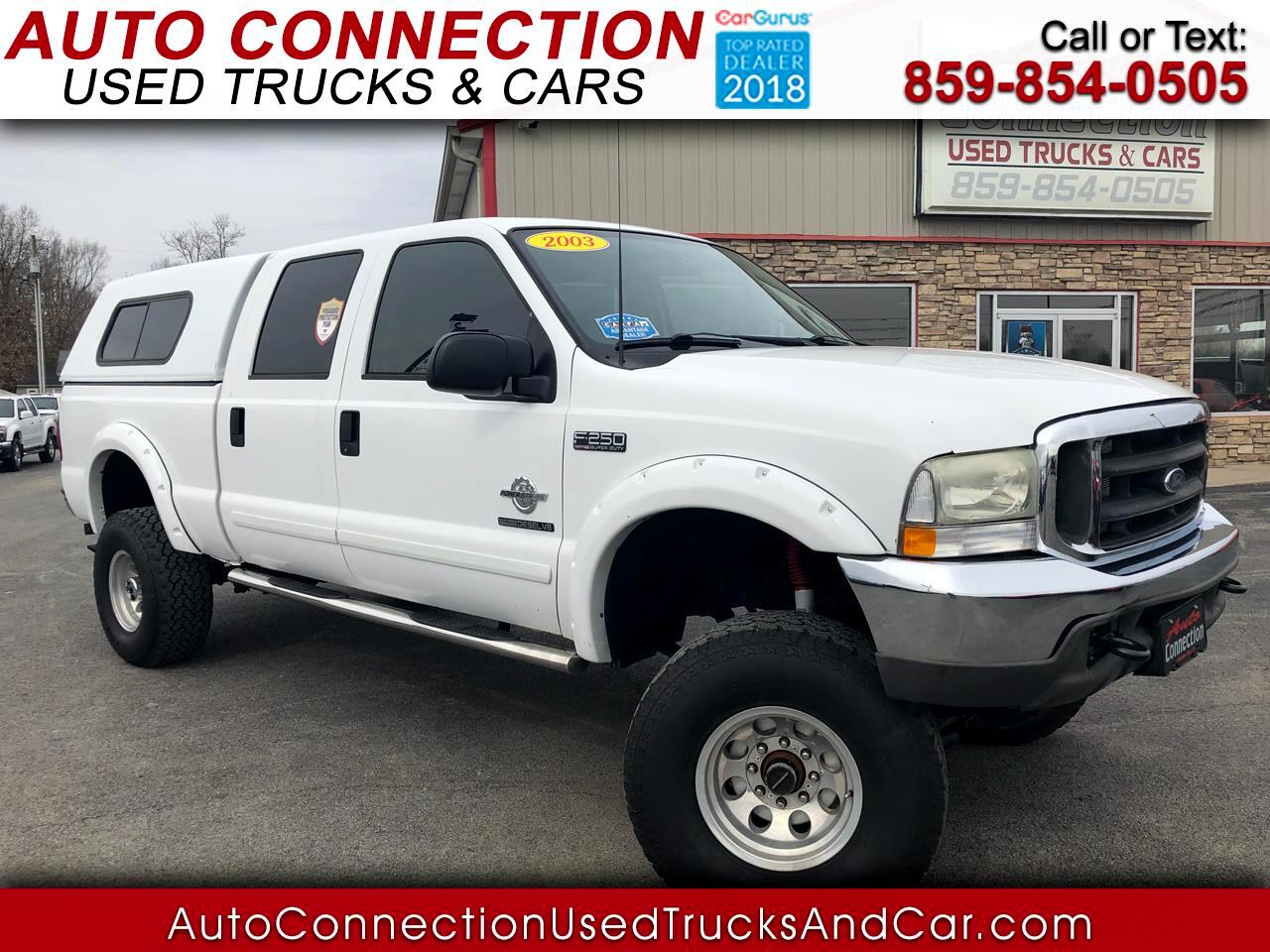 "2003 Ford Super Duty F-250 Crew Cab 156"" King Ranch 4WD"