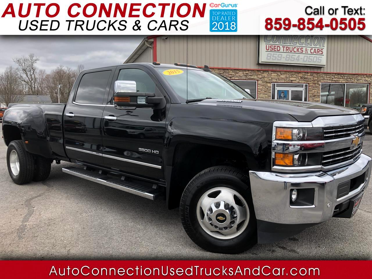 "2015 Chevrolet Silverado 3500HD Built After Aug 14 4WD Crew Cab 167.7"" LTZ"