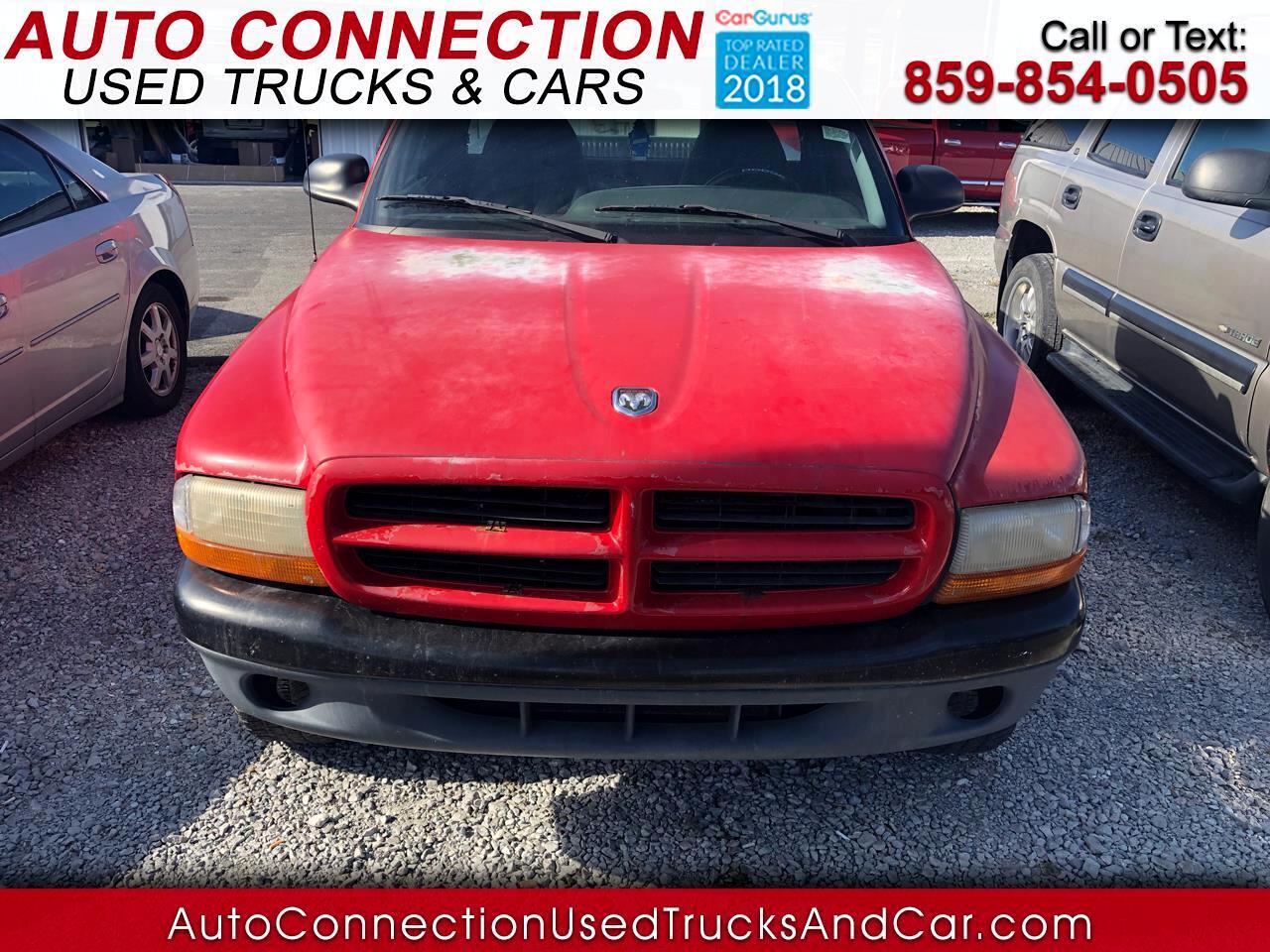 "1999 Dodge Dakota Reg Cab 112"" WB 4WD Sport"