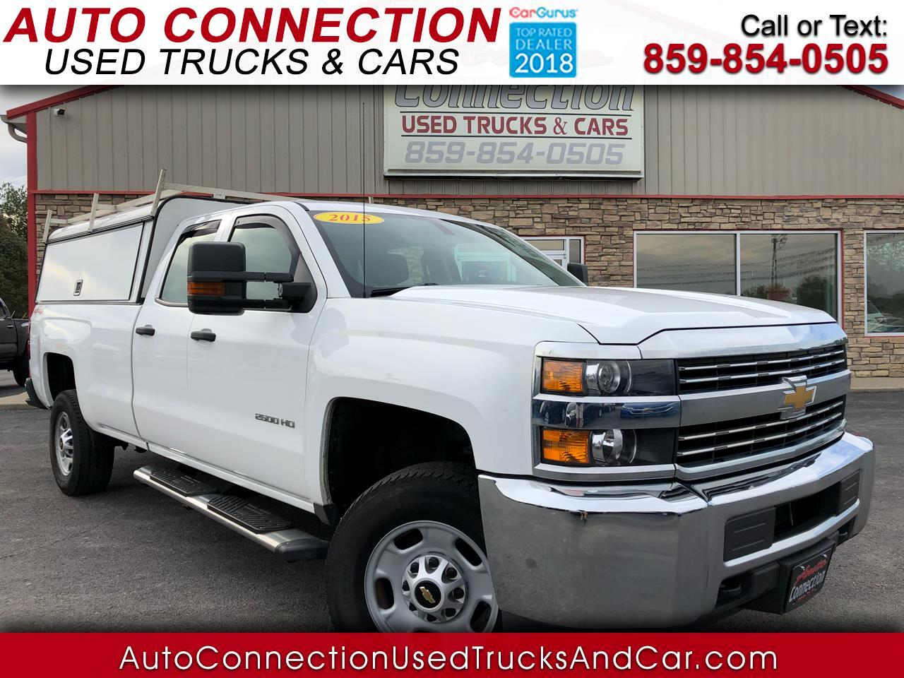 "2015 Chevrolet Silverado 2500HD Built After Aug 14 4WD Double Cab 158.1"" Work Truck"