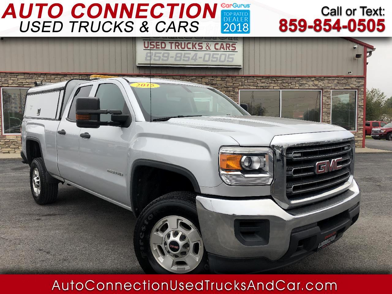 2015 GMC Sierra 2500HD available WiFi 4WD Double Cab 144.2""