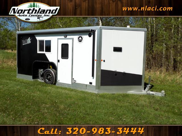 2018 Yetti Grand Escape Edition - GE816-PKH 8 ft x 16 ft Half Bath and Water Package