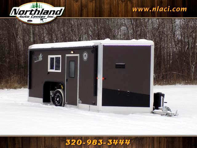 2018 Yetti Grand Escape Edition - GE816-PKH 8' x 16' Half Bath with Water Package