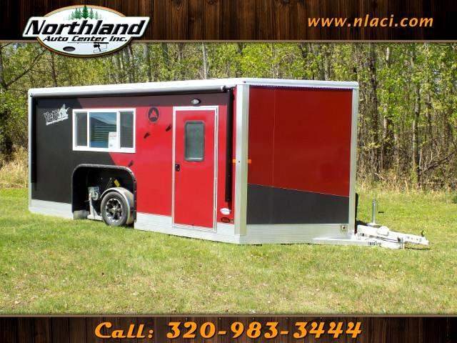 2019 Yetti Traxx Edition - T816-DK 8 ft x 16 ft Ramp Door Model