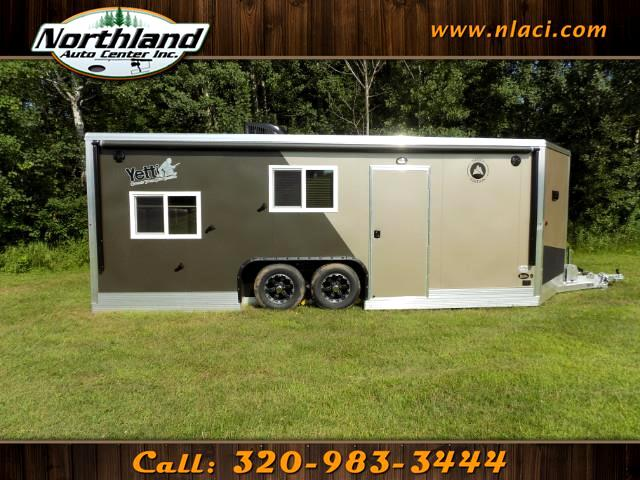 2019 Yetti Traxx Edition - T821HD-PK 8 ft x 21 ft RAMP DOOR MODEL