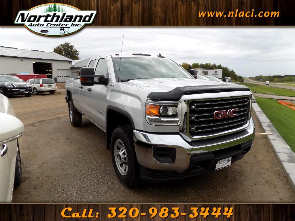 2017 GMC Sierra 2500HD 4WD Double Cab 158.1""