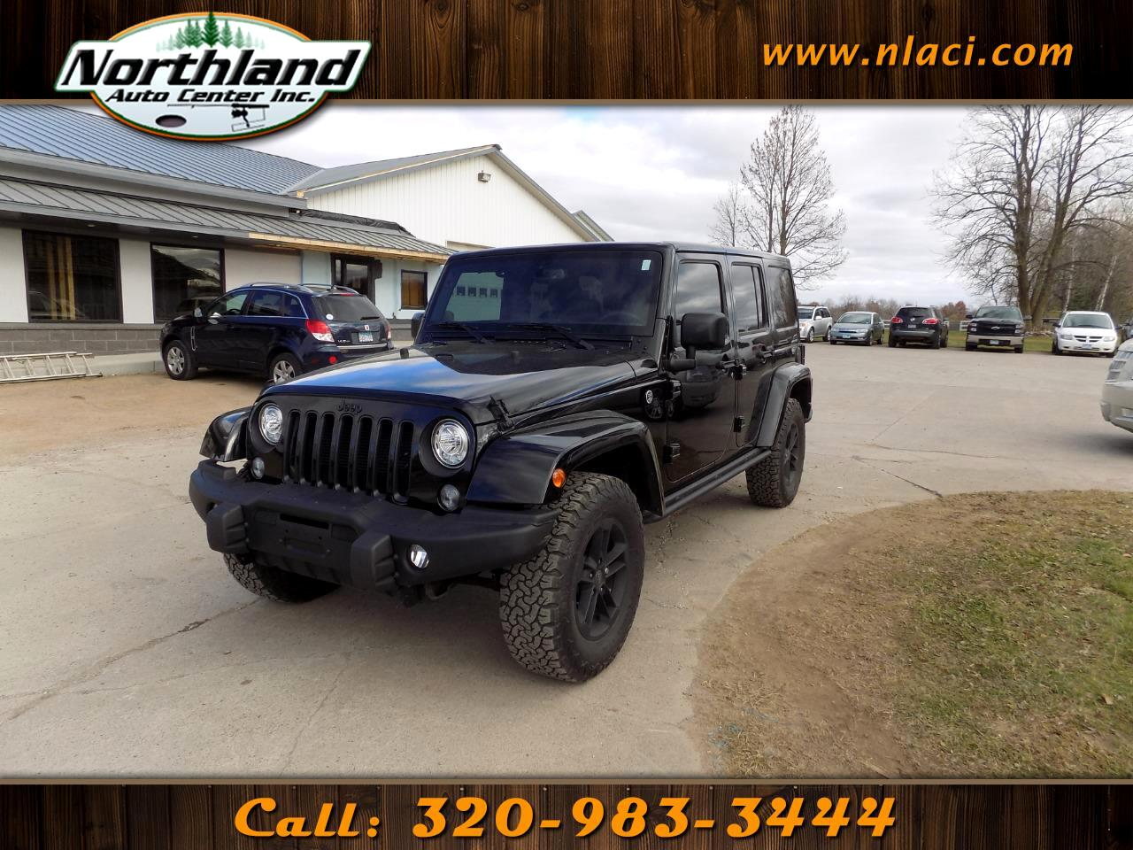 2017 Jeep Wrangler Unlimited Winter 4x4 *Ltd Avail*