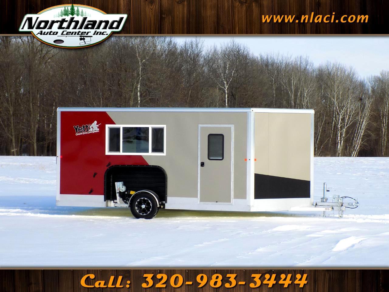 2019 Yetti Angler Edition 8x16 Northland Custom Cabin (Luxe)