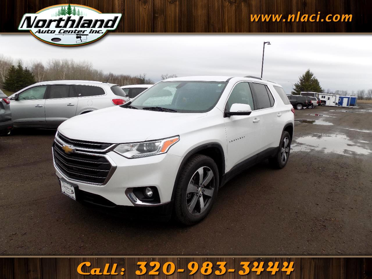 2018 Chevrolet Traverse FWD 4dr LT Leather w/3LT