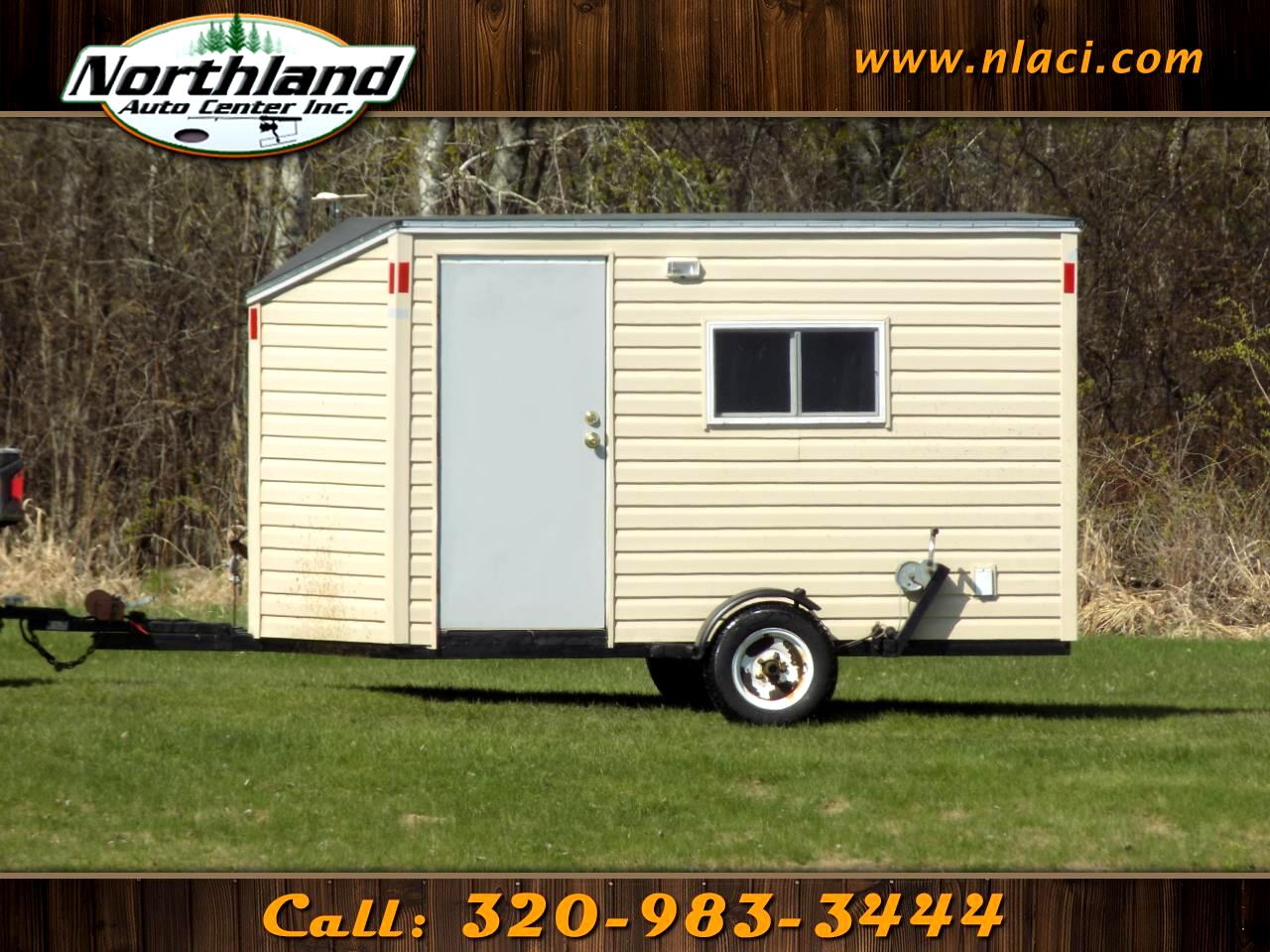 2015 Homemade Trailer Fishhouse Trailer