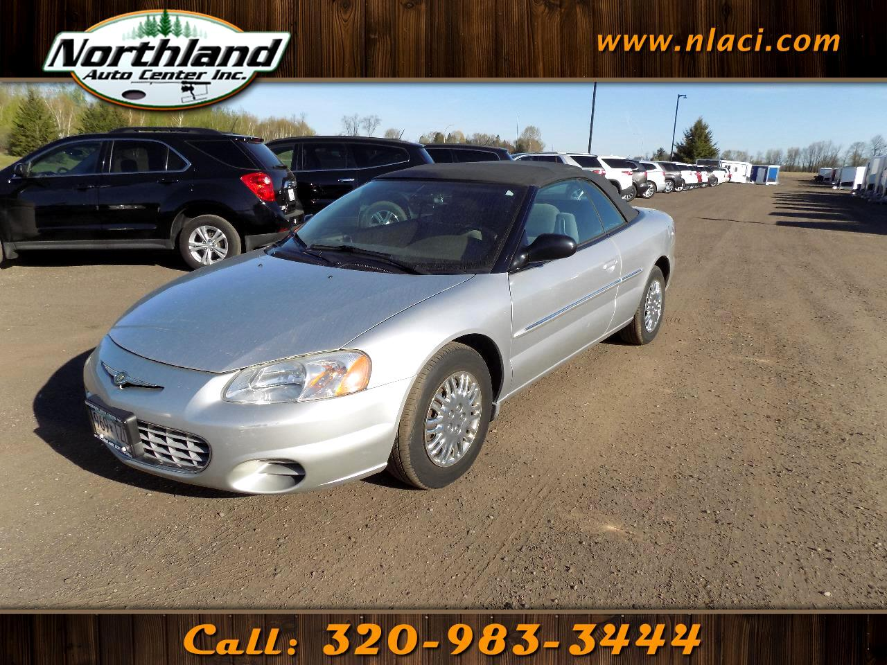 2002 Chrysler Sebring 2dr Convertible LX