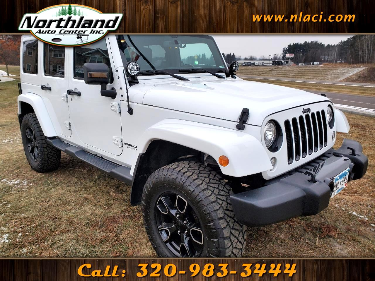 Jeep Wrangler Unlimited Smoky Mountain 4x4 *Ltd Avail* 2017