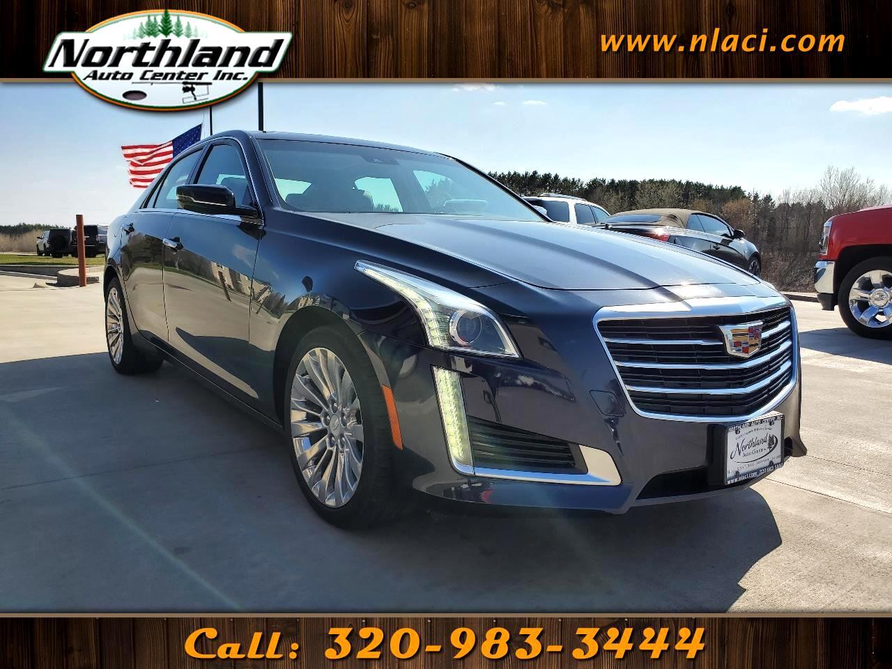Cadillac CTS Sedan 4dr Sdn 2.0L Turbo Luxury Collection AWD 2016