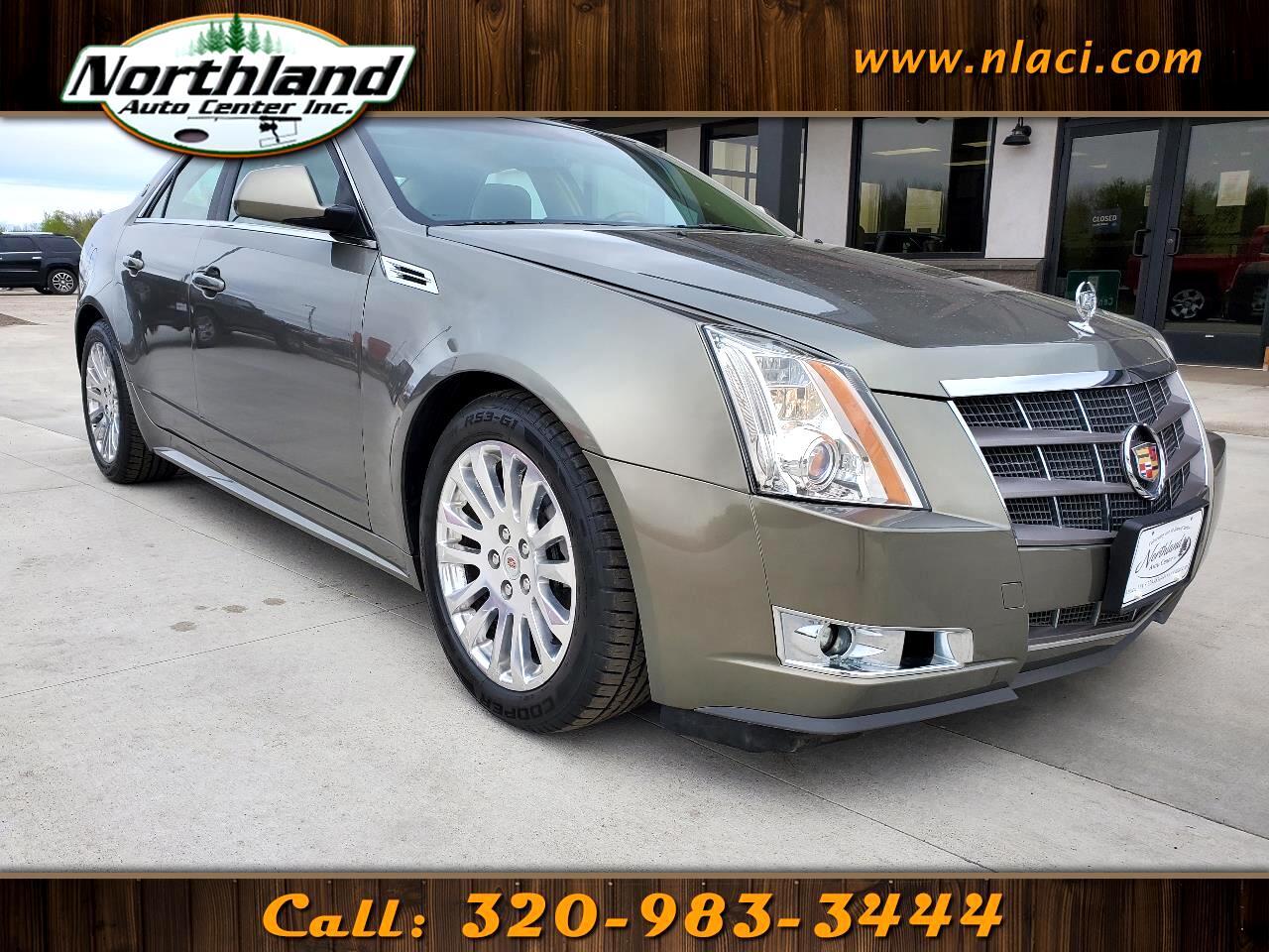 Cadillac CTS Sedan 4dr Sdn 3.6L Premium AWD 2010