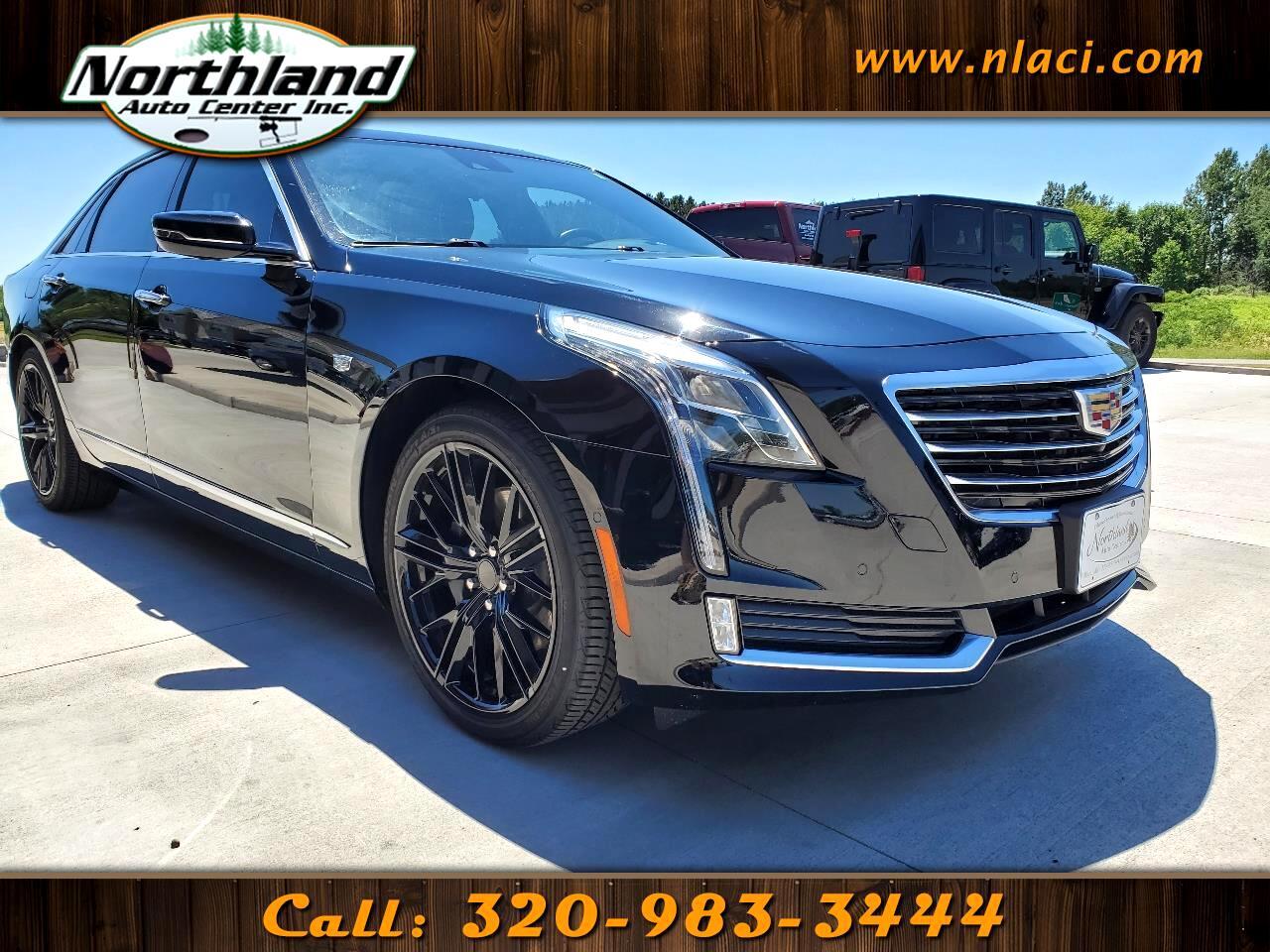 Cadillac CT6 4dr Sdn 3.6L Luxury AWD 2018