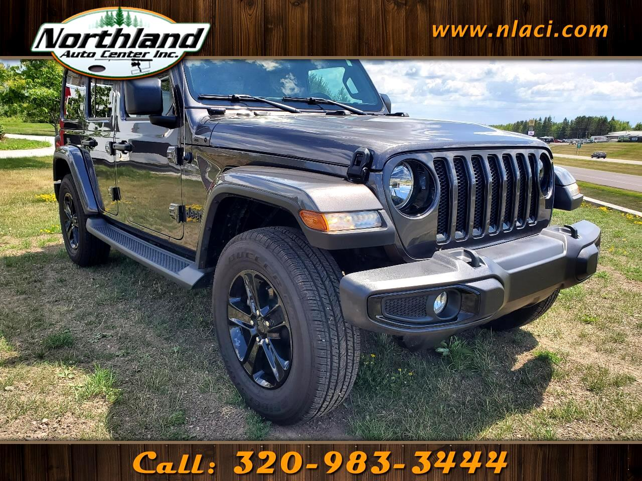 Jeep Wrangler Unlimited Sahara Altitude 4x4 2020