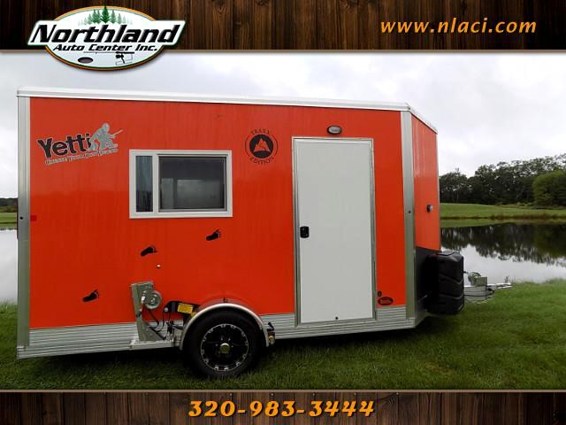 2018 Yetti Traxx Edition - T612-DK 6.5' x 12' Spear House with Solar Package