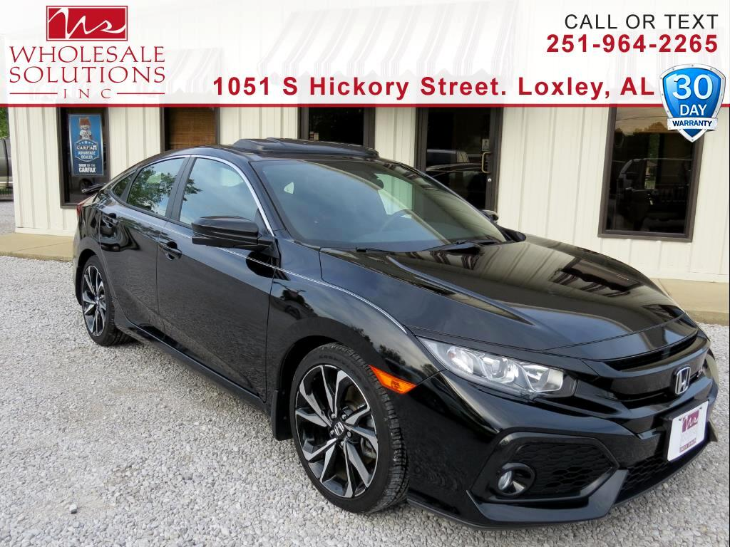 2017 Honda Civic Sedan Si Manual