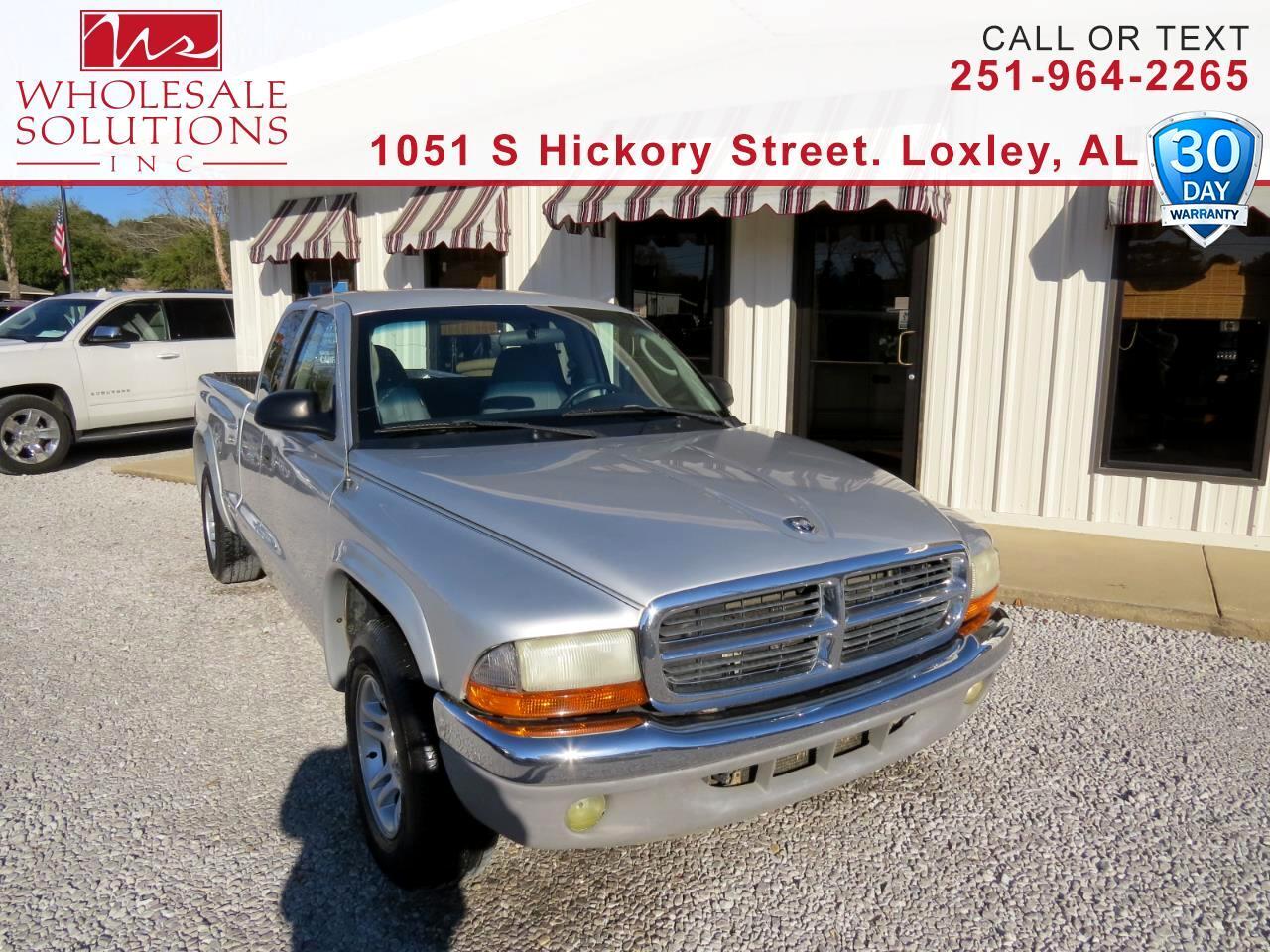 "2004 Dodge Dakota 2dr Club Cab 131"" WB SLT"