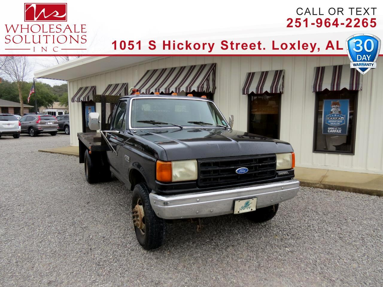 1991 Ford F-Super Duty Trucks Cab/Chassis 137