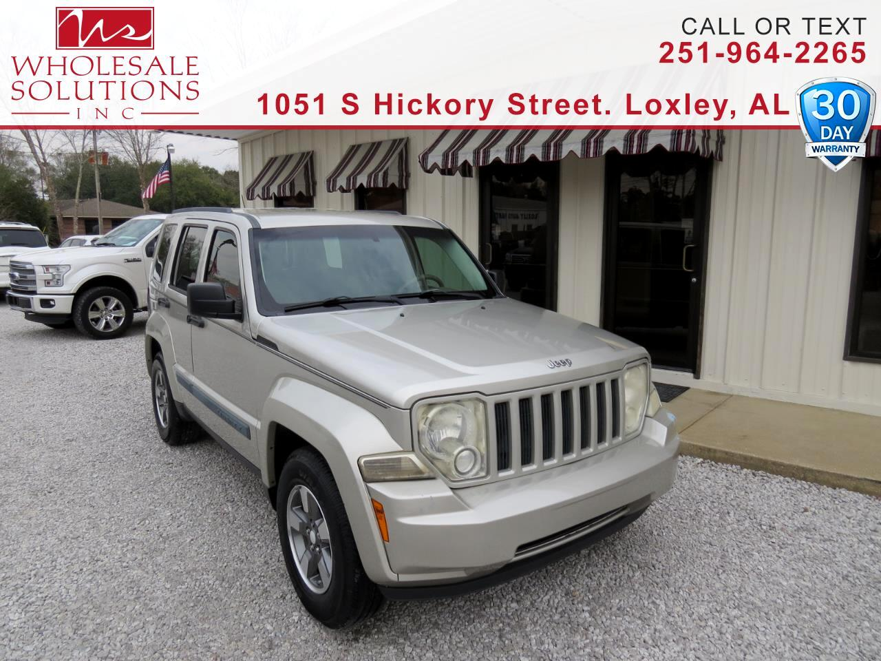2008 Jeep Liberty 2WD 4dr Sport