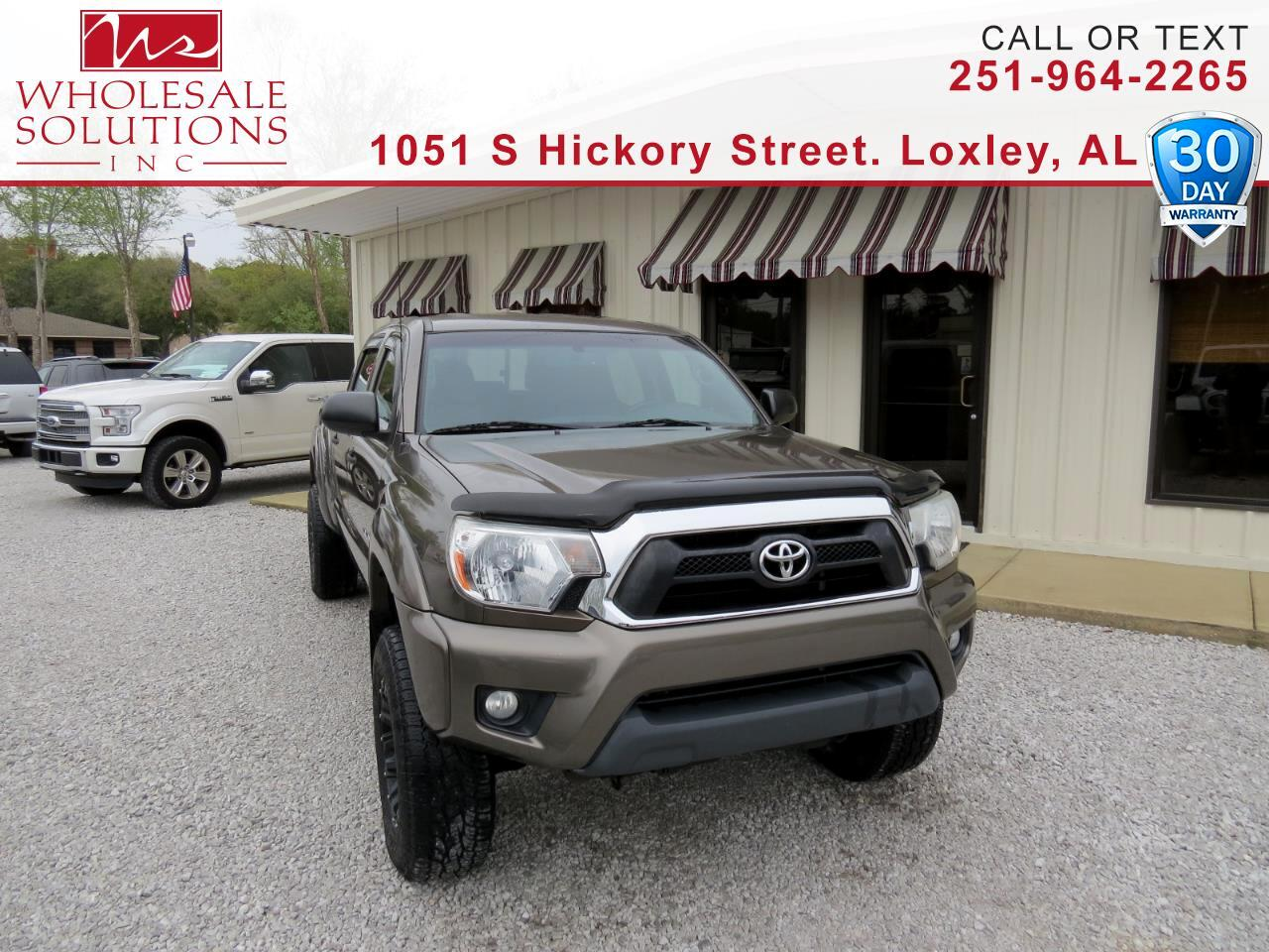 2012 Toyota Tacoma 2WD Double Cab LB V6 AT PreRunner (Natl)