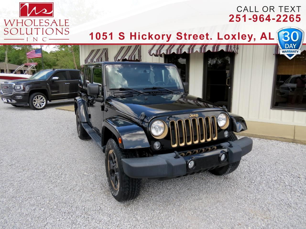 2014 Jeep Wrangler Unlimited 4WD 4dr Dragon Edition *Ltd Avail*