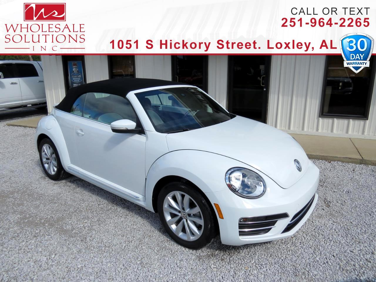 Used 2017 Volkswagen Beetle Convertible 1 8t S Auto For Sale