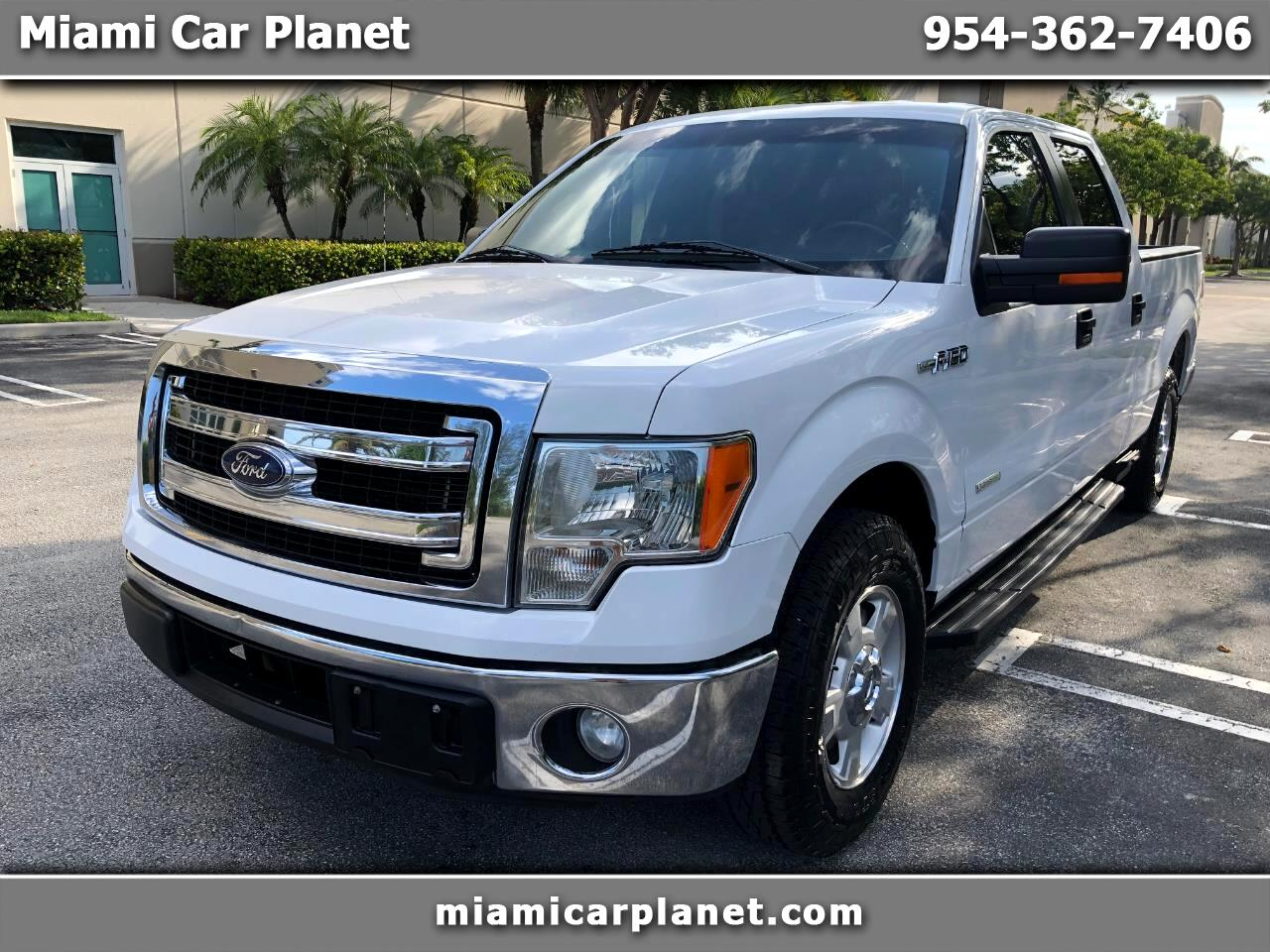 "Ford F-150 2WD SuperCrew 157"" XLT 2014"