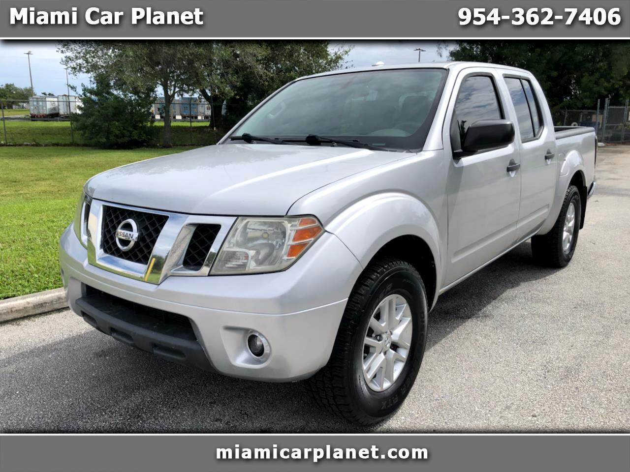 Nissan Frontier SV Crew Cab 5AT 4WD 2014
