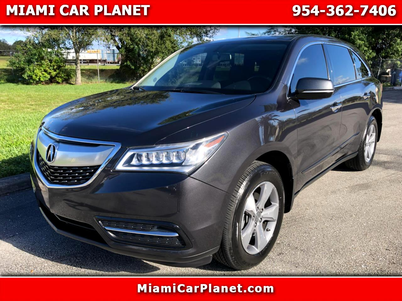 Acura MDX SH-AWD 6-Spd AT 2014