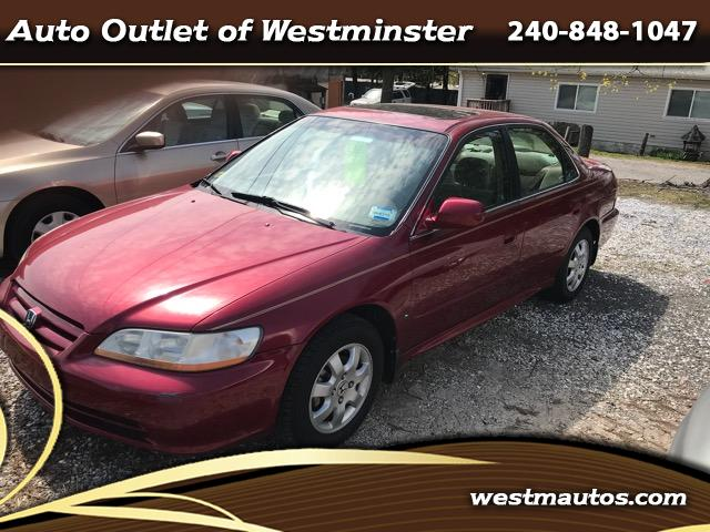 2001 Honda Accord EX Sedan AT