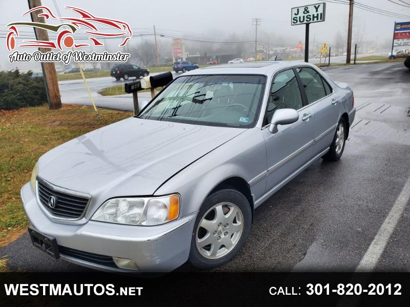 Acura RL 3.5RL with Navigation System 2002