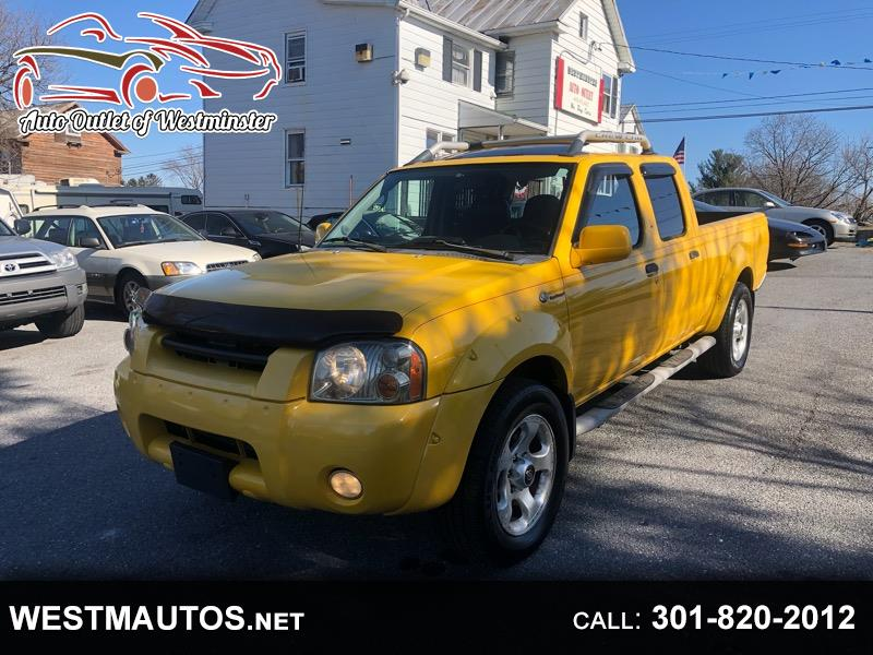Nissan FRONTIER X SC-V6 Crew Cab Long Bed 4WD 2002