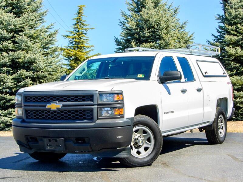 2014 Chevrolet Silverado 1500 Work Truck 1WT Double Cab 4WD