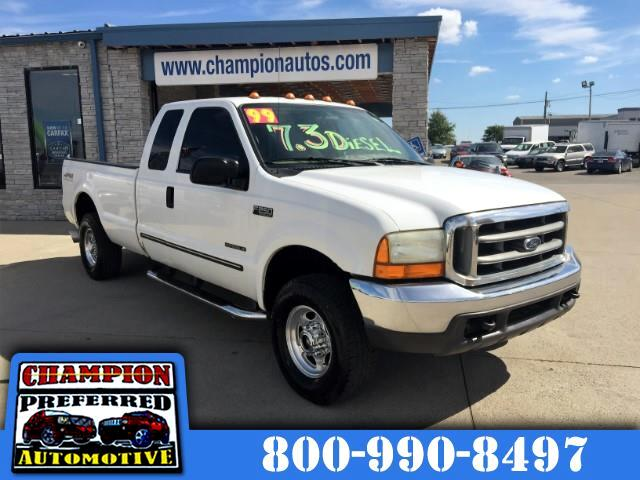 1999 Ford F-250 SD XLT SuperCab LWB 4WD