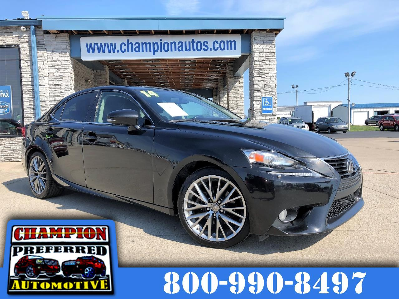2014 Lexus IS 250 AWD